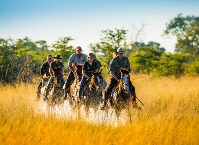 Horse riding RAW Botswana